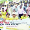 Kailash Satyarthi asks leaders to support hurt schoolkids