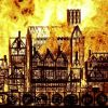 Video: London replica burned to mark 350th anniversary of Great Fire