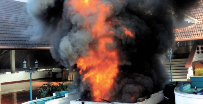 Major fire throws Thiruvananthapuram into panic