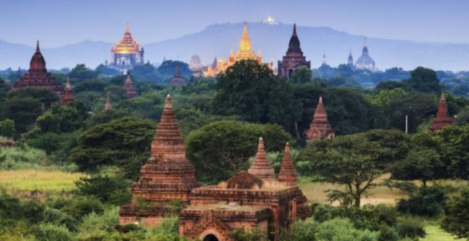 Powerful Myanmar quake damages famed Bagan temples