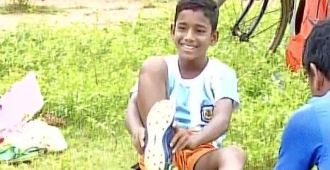 11-year-old football prodigy from Odisha slum heads to Bayern Munich academy