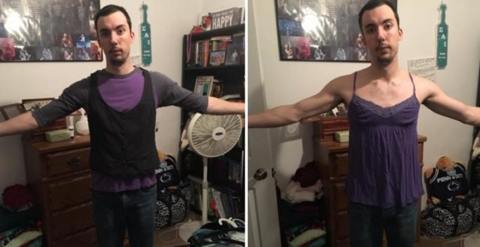 Man's post goes viral after he addresses body shaming issues