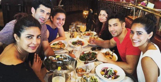 Dream Team: Priyanka Chopra's lunch date with Parineeti, Varun and others