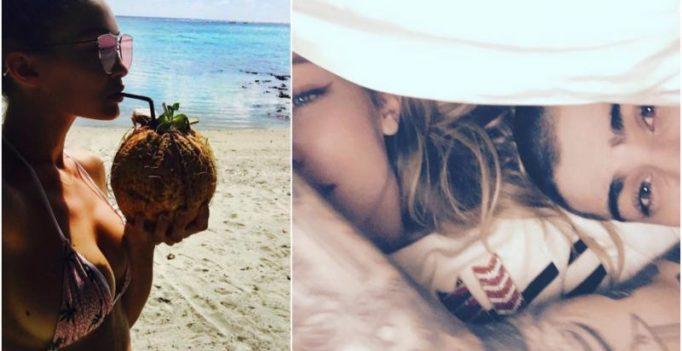 Gigi Hadid-Zayn Malik high on PDA as they enjoy a romantic vacation in Tahiti!