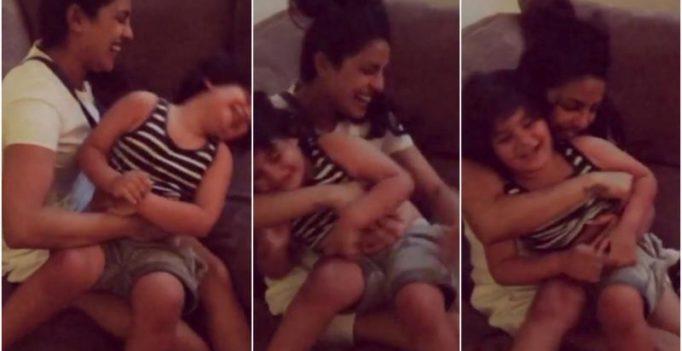 Watch: Priyanka Chopra gets cuddly with her Quantico co-star's little baby boy