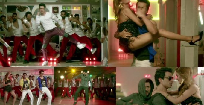 Prabhu Deva and Sonu indulge in some serious dancing in Tutak Tutak Tutiya