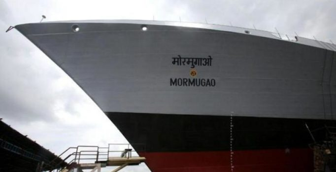 Indian Navy's guided missile destroyer Mormugao to be launched on Sept 17