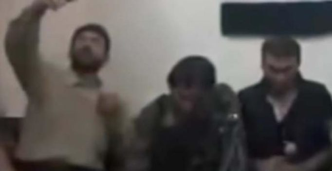 Video shows Syrian rebels taking selfie with bomb-rigged phone as it explodes