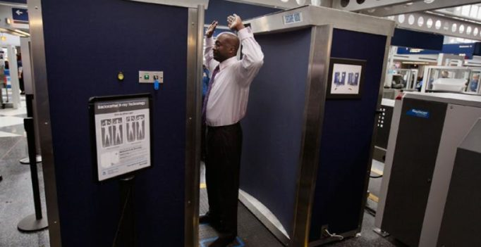 Scanners at airports can mistake cysts for security threats