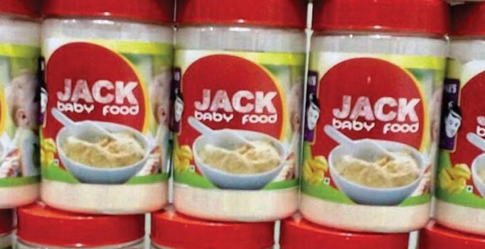 Now, baby food from jackfruit