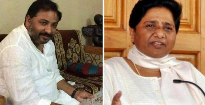 After 'prostitute' slur, expelled BJP leader Dayashankar likens Maya to a 'dog'