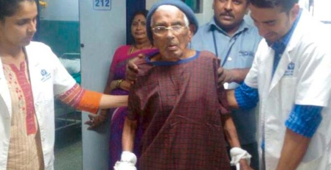 Bengaluru: 103-year-old walks again, thanks to ragi mudde