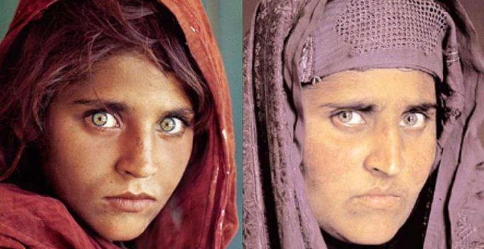 Nat Geo's iconic green-eyed Afghan refugee, arrested for faking ID