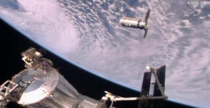 Space station accepts first Virginia delivery in 2 years