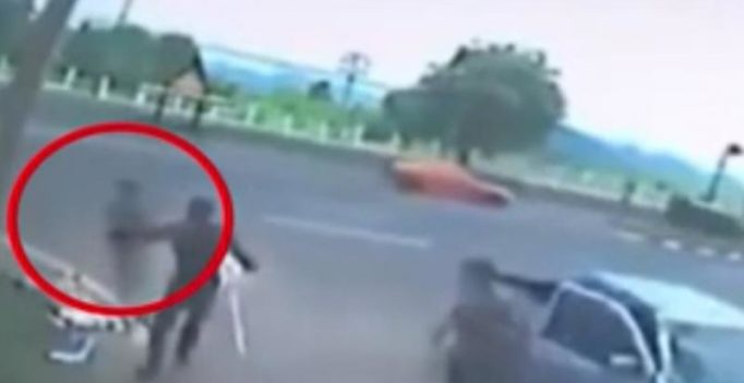 Shocking video shows woman's 'soul' leaving body after fatal accident