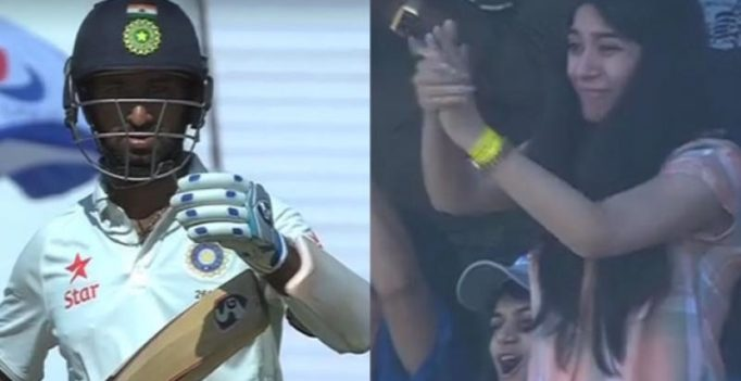 Watch: When Cheteshwar Pujara's wife's sheer joy won everyone's heart