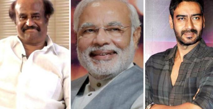 Rajinikanth, other stars laud Modi's move to eradicate black money