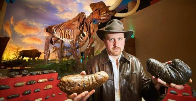 Dinosaur poop collector earns place in Guinness World Records