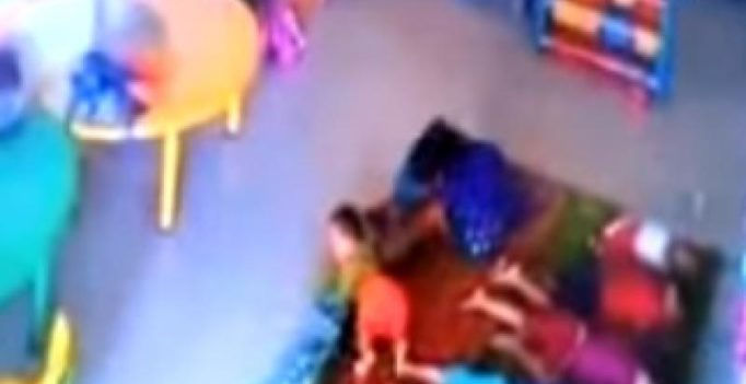 Video: 10-month-old girl beaten up, kicked by caretaker in Mumbai crèche