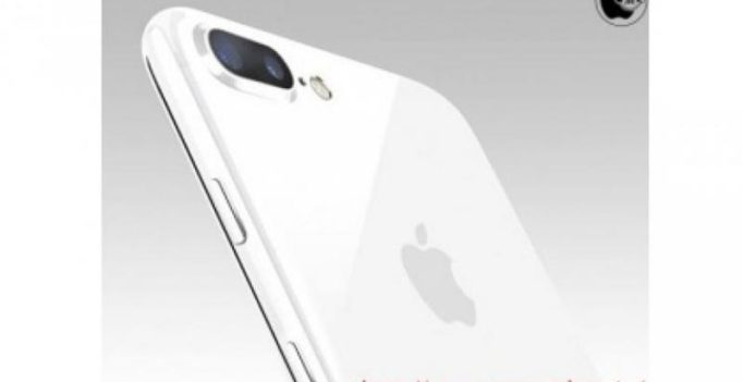 This is how 'Jet White' iPhone 7 and iPhone 7 Plus will look like