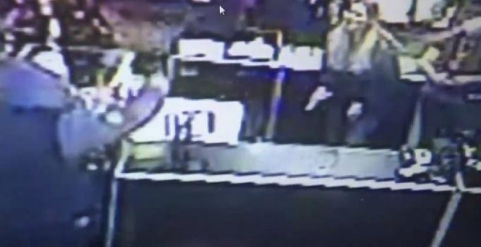 Sex shop employees fight off robber by attacking with dildos