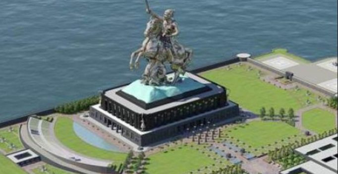 Modi in Maharashtra to lay foundation for Rs 3,600 crore Shivaji Memorial