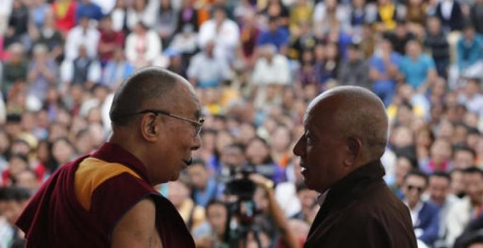 China upset as Dalai Lama meets President Pranab Mukherjee