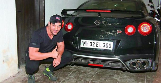 John Abraham gifts himself a car
