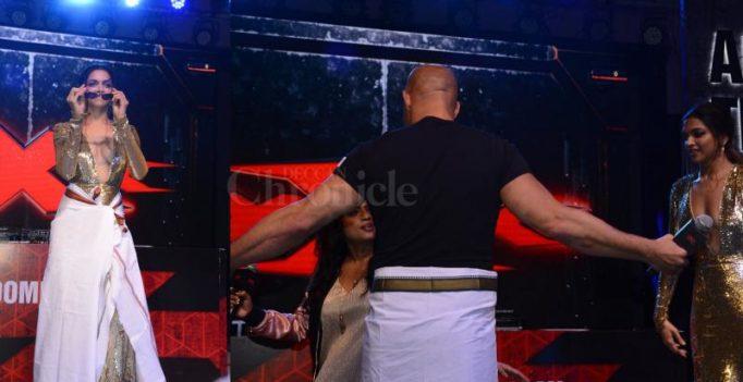 Watch: Vin-Deepika shake a leg to SRK's Lungi Dance, fans go ballistic