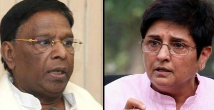 Puducherry: BJP mocks Cong's criticism of Bedi, lauds her for 'excellent work'