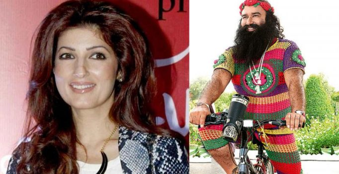 'Fan' Twinkle clicks brand new neighbour Gurmeet Ram Rahim's picture secretly