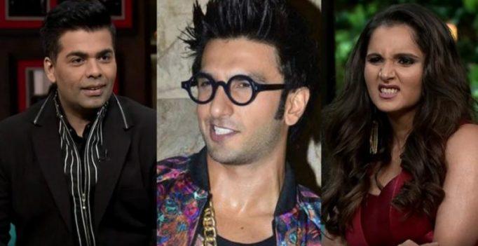 KWK: Had I been Deepika I would ditch Ranveer, says Sania Mirza