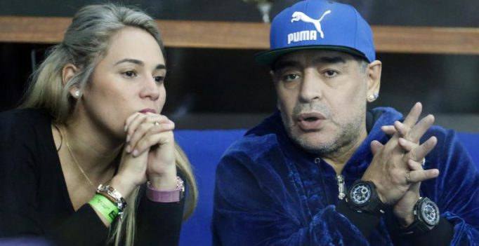 Video: Argentina football legend Maradona threatens to break reporter's nose