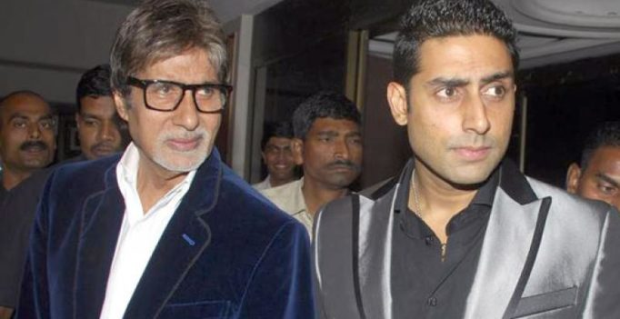 Big B feels expectations of being a star's son were too high for Abhishek