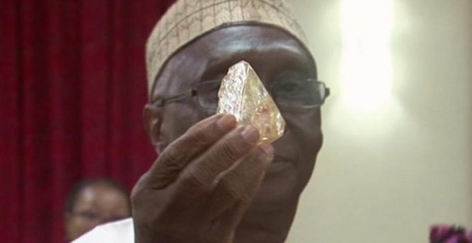 Sierra Leone pastor unearths 706-carat diamond, possibly 10th largest ever found