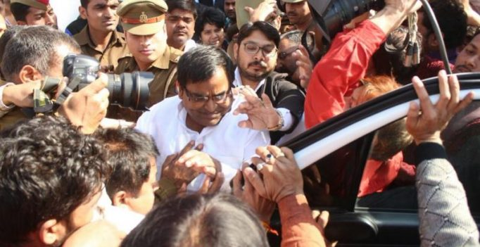 Missing for a month, rape accused UP minister Gayatri Prajapati arrested