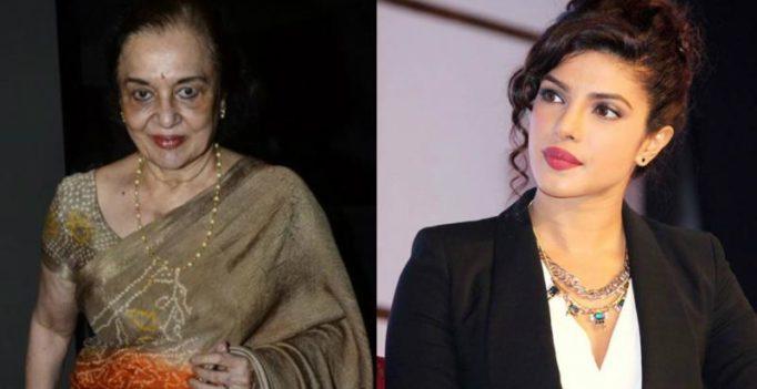 Exclusive: Priyanka has the naughtiness to play me, says Asha Parekh