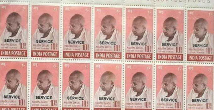 Mahatma Gandhi stamps sold for 500,000 pounds at auction in UK