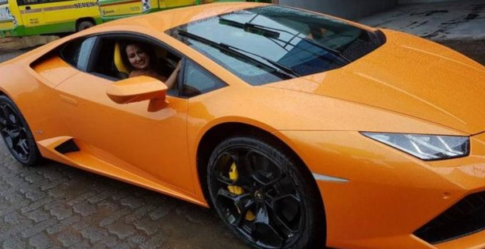 BJP MLA's Lamborghini cynosure of all eyes at Vidhan Bhawan