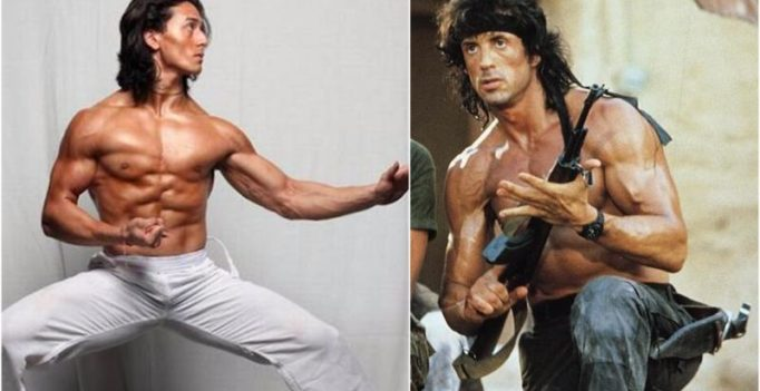 Tiger to star in Hindi remake of Sylvester Stallone's Rambo?