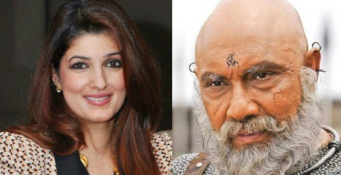 Twinkle Khanna goes gaga over Katappa, goofs up by mistaking his son for him