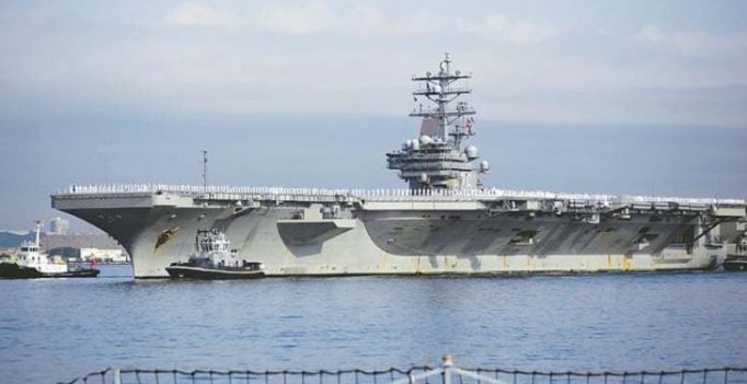 Wary of North Korea's new missile, US sends 2nd aircraft carrier near Korean waters