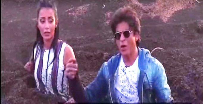 Prank on Shah Rukh Khan goes wrong