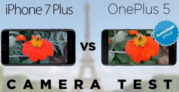 Camera test: OnePlus 5 vs iPhone 7 Plus