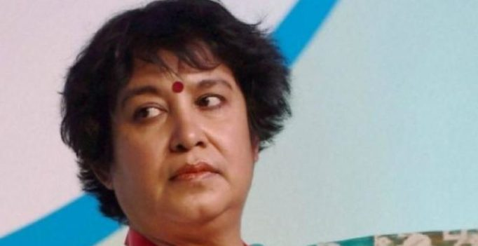 Taslima Nasreen sent back from Aurangabad after AIMIM-led protest
