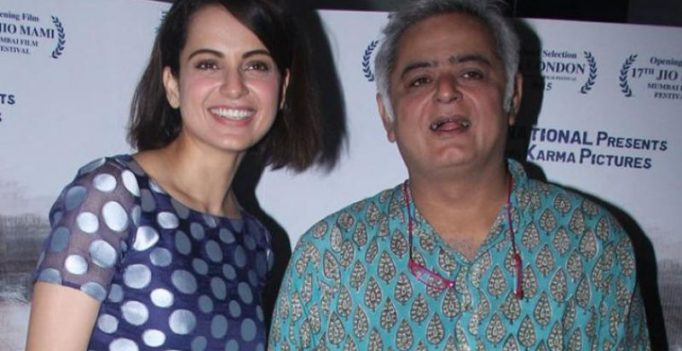 'Why drag Kangana's name in every gossip,' Hansal Mehta slams report on 'Simran'