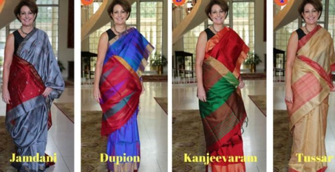 #SareeSearch: US envoy to India wants your help deciding I-Day saree