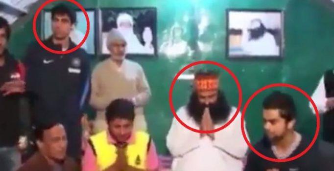 Video: When Gurmeet Ram Rahim blessed Virat Kohli, Ashish Nehra