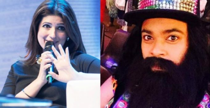 Twinkle Khanna, Kiku Sharda take hilarious dig at Ram Rahim after he gets sentenced