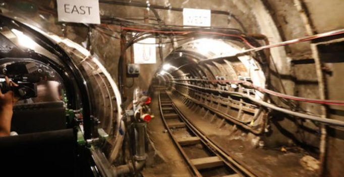 London's old mail rail line opens to public after 14 years